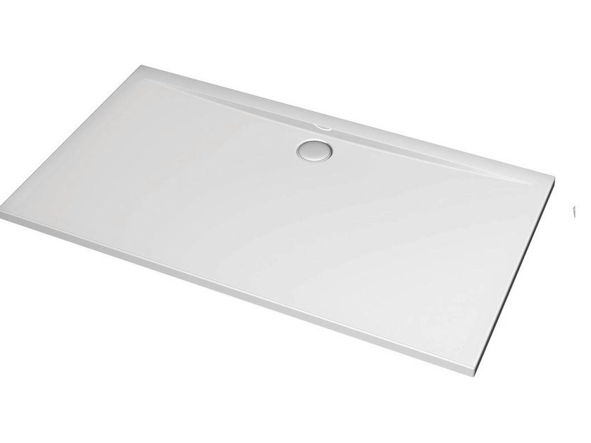 Rectangular acrylic shower tray ULTRA FLAT 160 x 90 cm - K5188 by Ideal Standard
