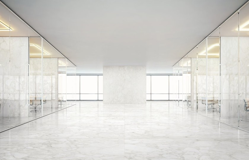 Ultra thin wall/floor tiles with marble effect ULTRA MARMI | CALACATTA DELICATO by ARIOSTEA
