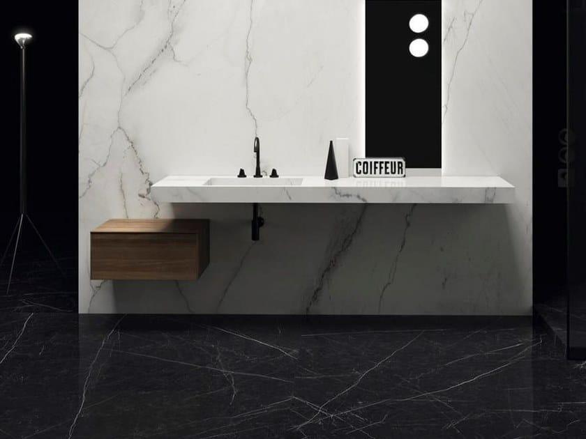 Ultra thin wall/floor tiles with marble effect ULTRA MARMI - CALACATTA LINCOLN by ARIOSTEA