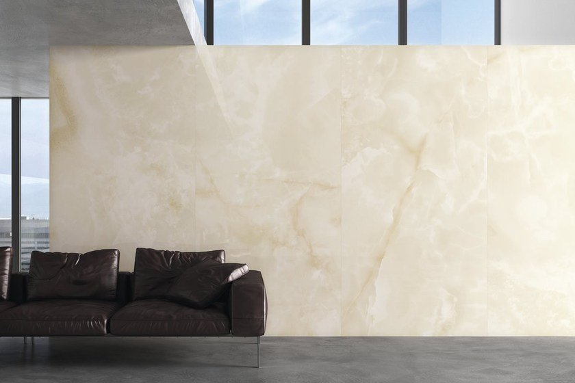 Porcelain stoneware wall/floor tiles ULTRA ONICI - BEIGE by ARIOSTEA