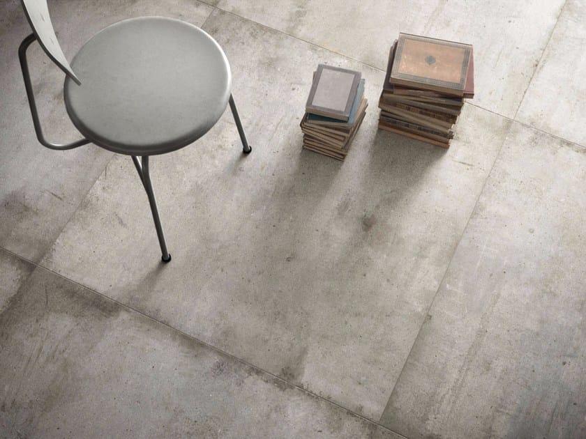 Pavimento/rivestimento in gres porcellanato effetto pietra ULTRA TEKNOSTONE - LIGHT GREY by ARIOSTEA