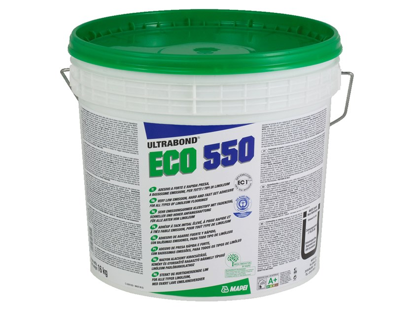 Tile adhesive ULTRABOND ECO 550 by MAPEI
