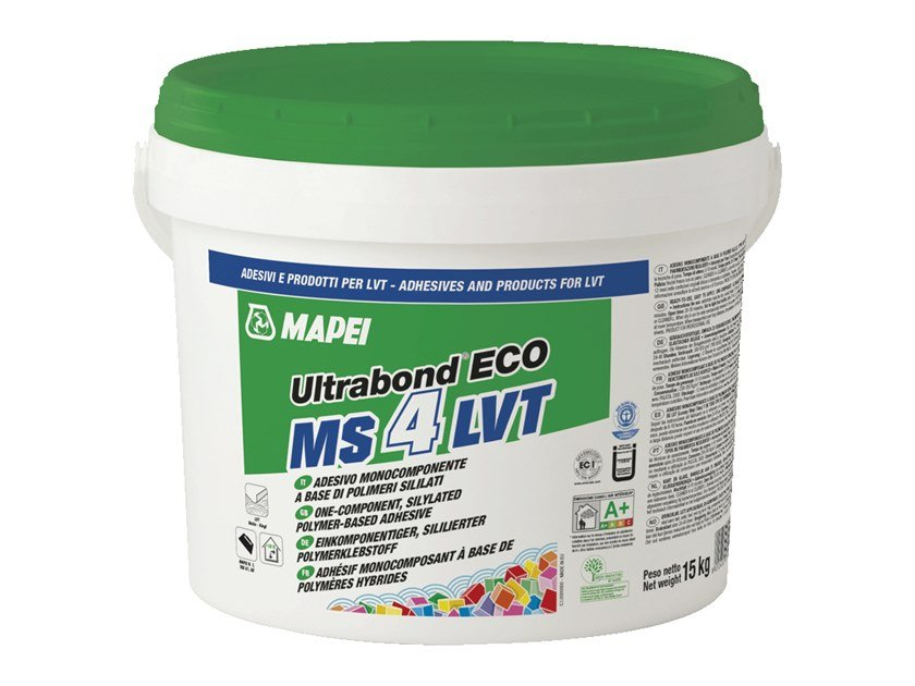 Tile adhesive ULTRABOND ECO MS 4 LVT by MAPEI