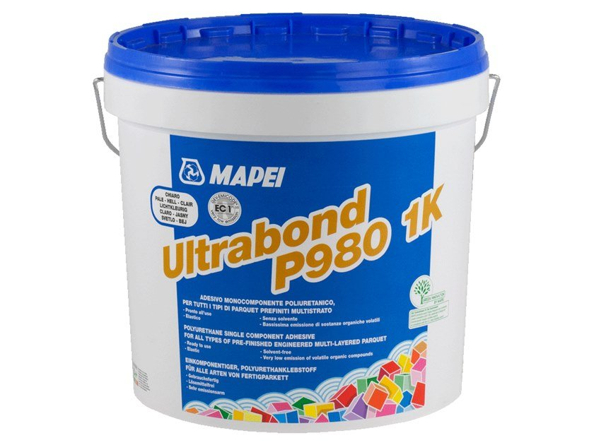 Wood-flooring adhesive ULTRABOND P980 1K by MAPEI