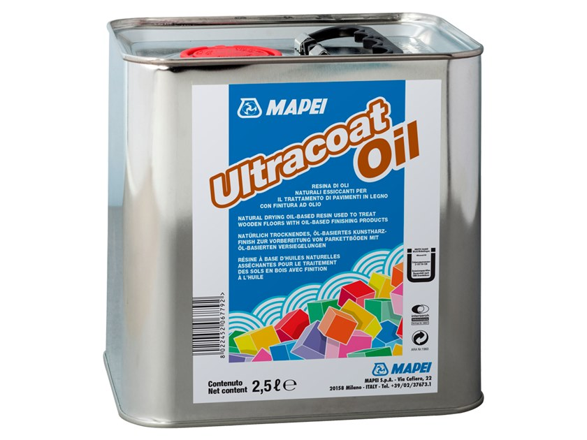 Wood protection product ULTRACOAT OIL by MAPEI