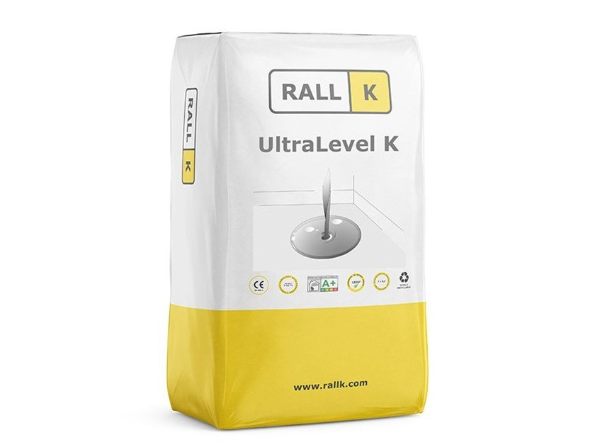 Self-levelling screed ULTRALEVEL K by RALLK