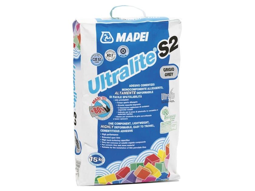Adesivo cementizio monocomponente alleggerito ULTRALITE S2 by MAPEI