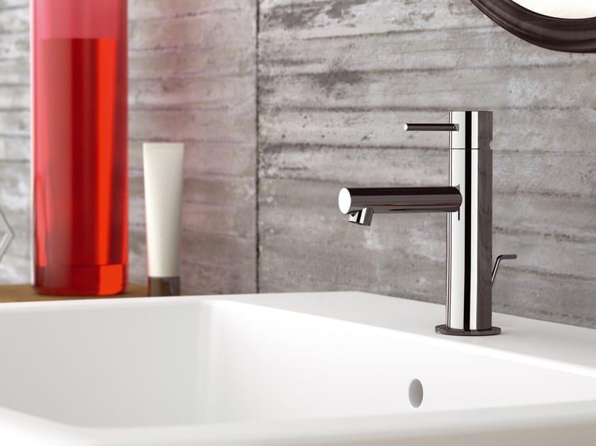 Countertop single handle brass washbasin mixer ULTRAMINIMAL | Washbasin mixer by Rubinetterie Mariani