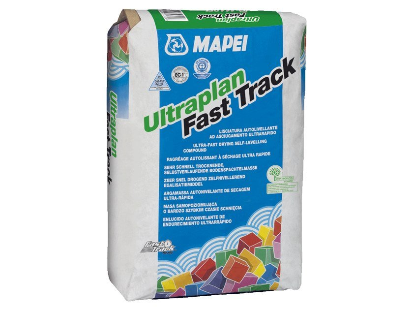 Self-levelling screed ULTRAPLAN FAST TRACK by MAPEI