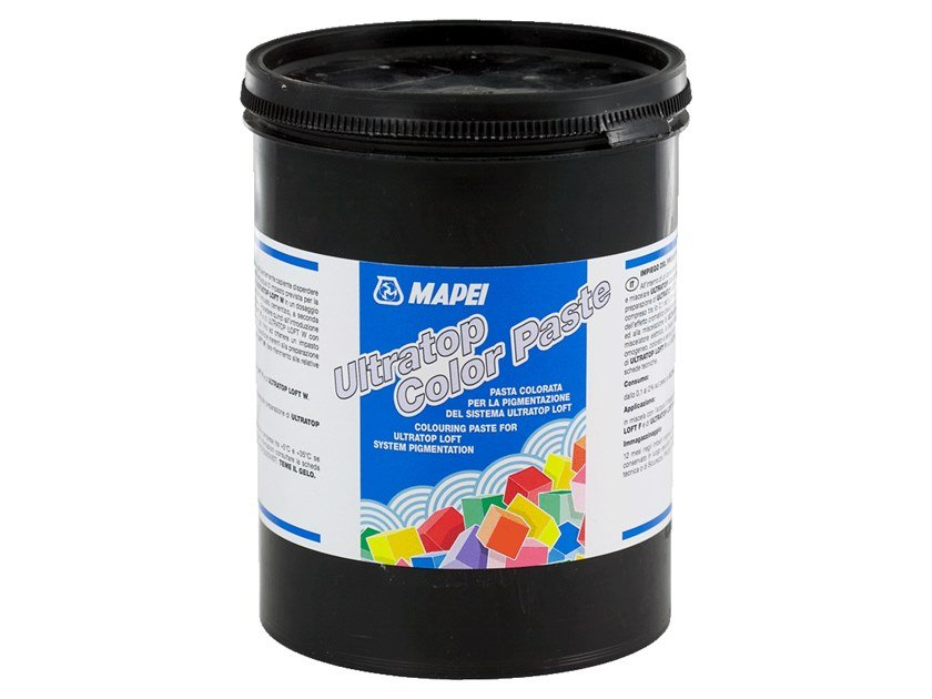 Paint additive ULTRATOP COLOR PASTE by MAPEI