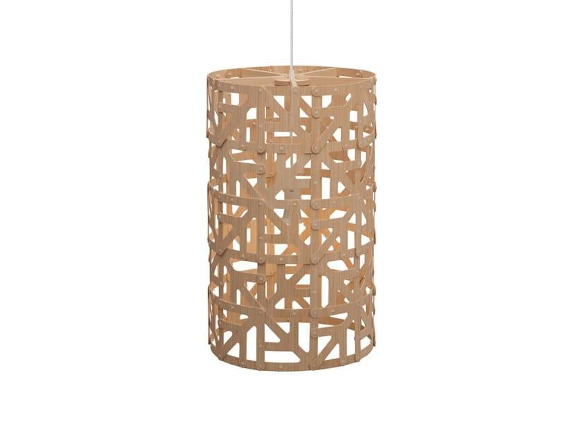 Pendant lamp ULU by David Trubridge