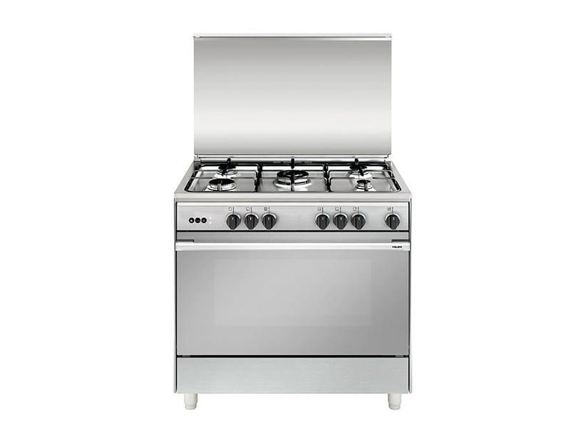 Steel cooker UN9612RI | Cooker by Glem Gas