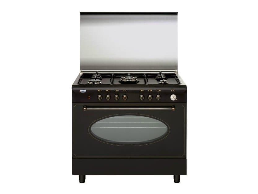 Cucina a libera installazione in acciaio un9612rr cucina a libera installazione glem gas - Cucine a gas libera installazione ...