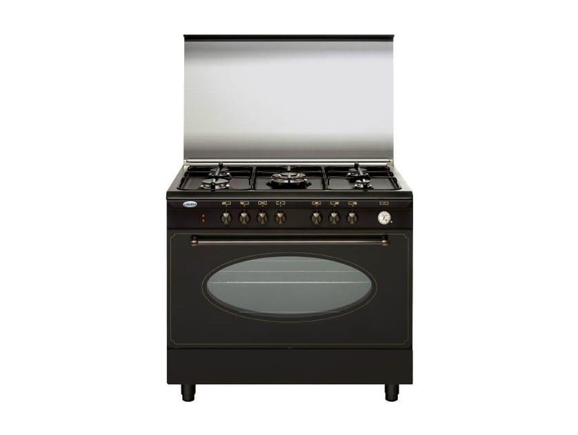 Steel cooker UN9612VR   Cooker by Glem Gas