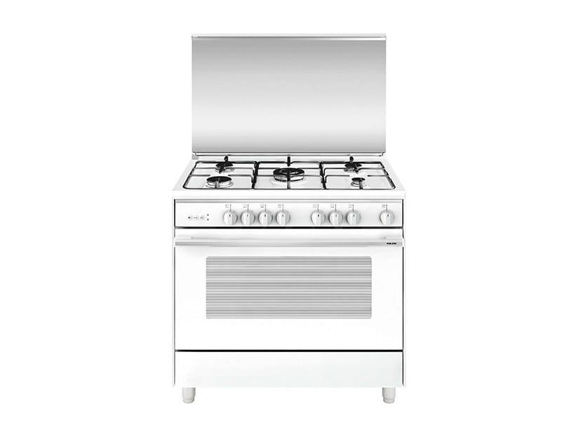 Steel cooker UN9612VX | Cooker by Glem Gas