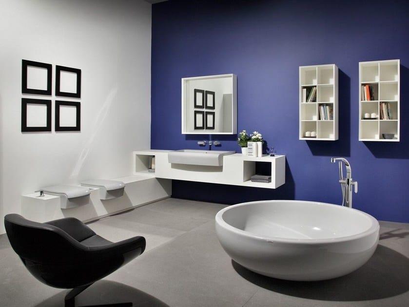 UNA | Arredo bagno completo By CERAMICA FLAMINIA design Romano Adolini