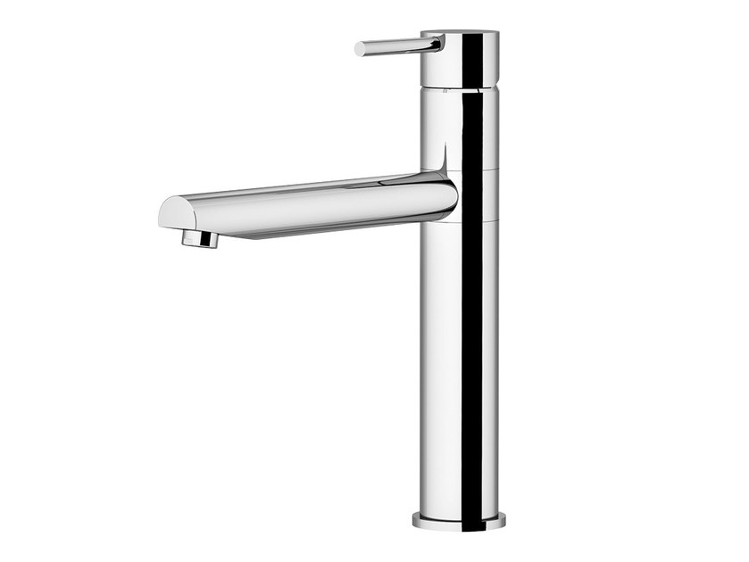 Countertop kitchen mixer tap with swivel spout UNDER WINDOW | 0418 by Gattoni Rubinetteria