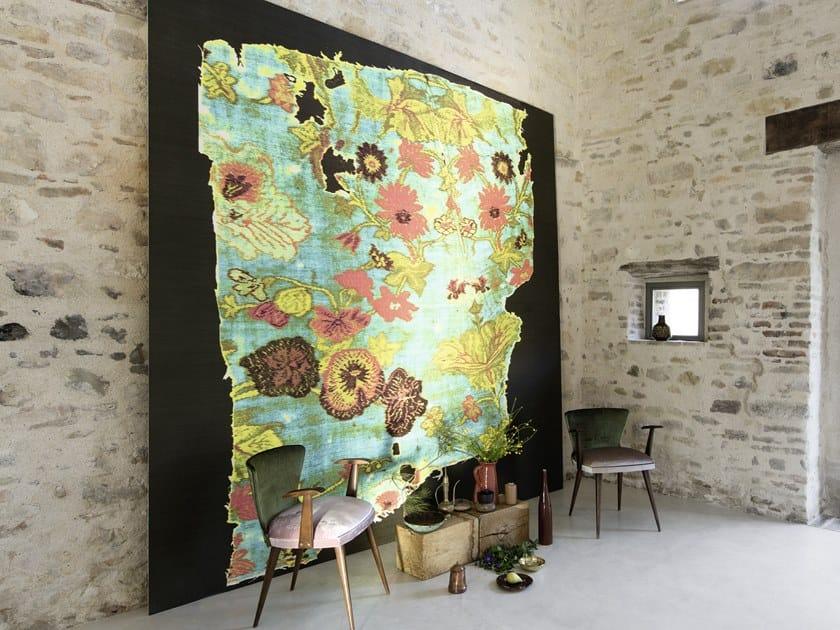 Carta da parati panoramica in vinile con motivi floreali UNFORGETTABLE by Élitis