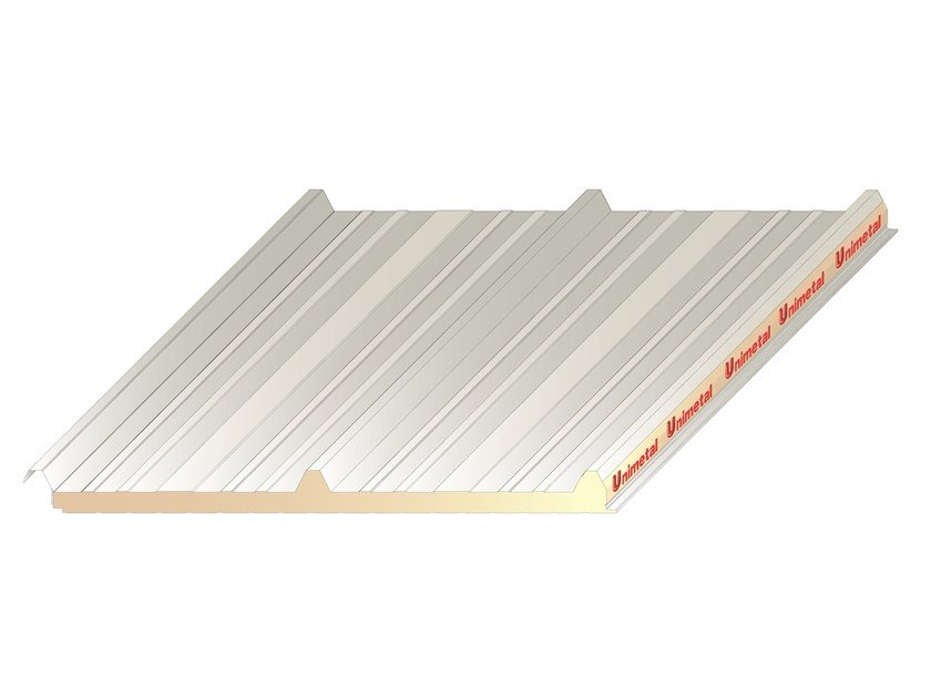 Insulated metal panel for roof UNI 3 by UNIMETAL