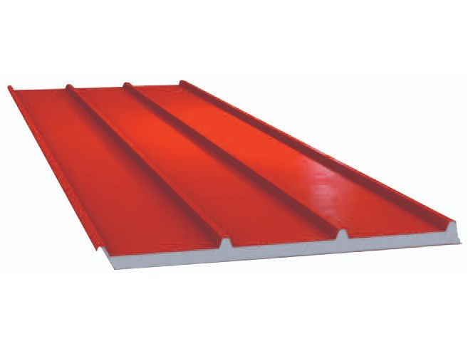 Insulated metal panel for roof UNI 4000 Eps by UNIMETAL