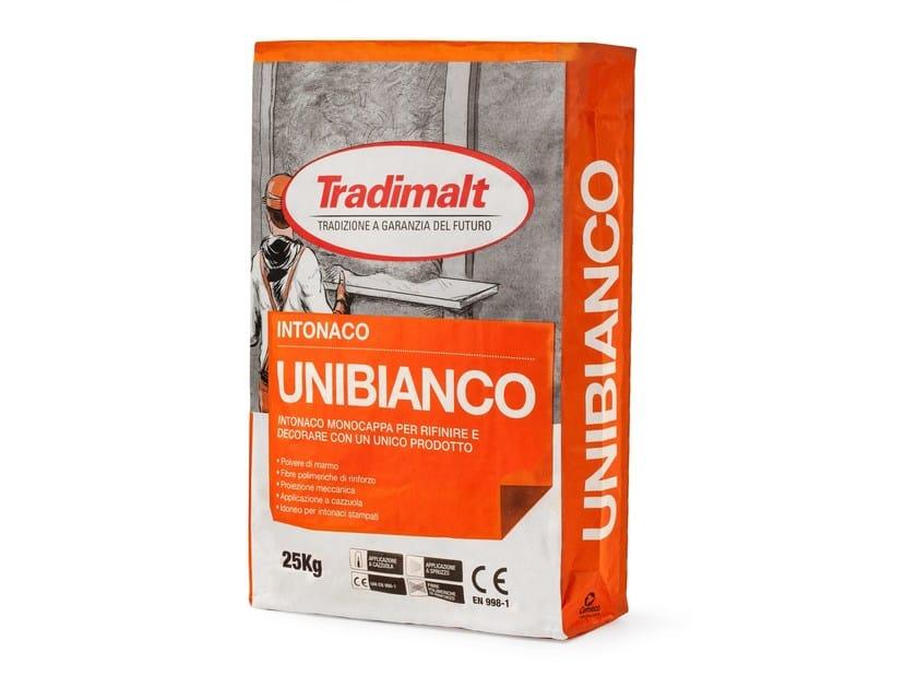 Cement plaster UNIBIANCO by TRADIMALT