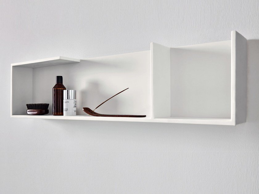 Corian® bathroom wall shelf UNICO | Bathroom wall shelf Unico Collection By Rexa Design