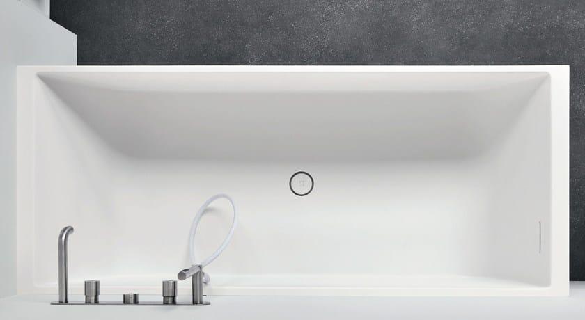 Vasche Da Bagno Mini Prezzi : Vasca da bagno rettangolare in corian® unico mini rexa design