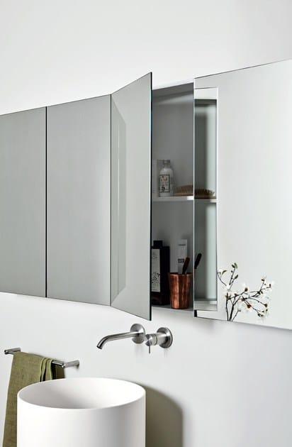 UNICO | Specchio con contenitore By Rexa Design