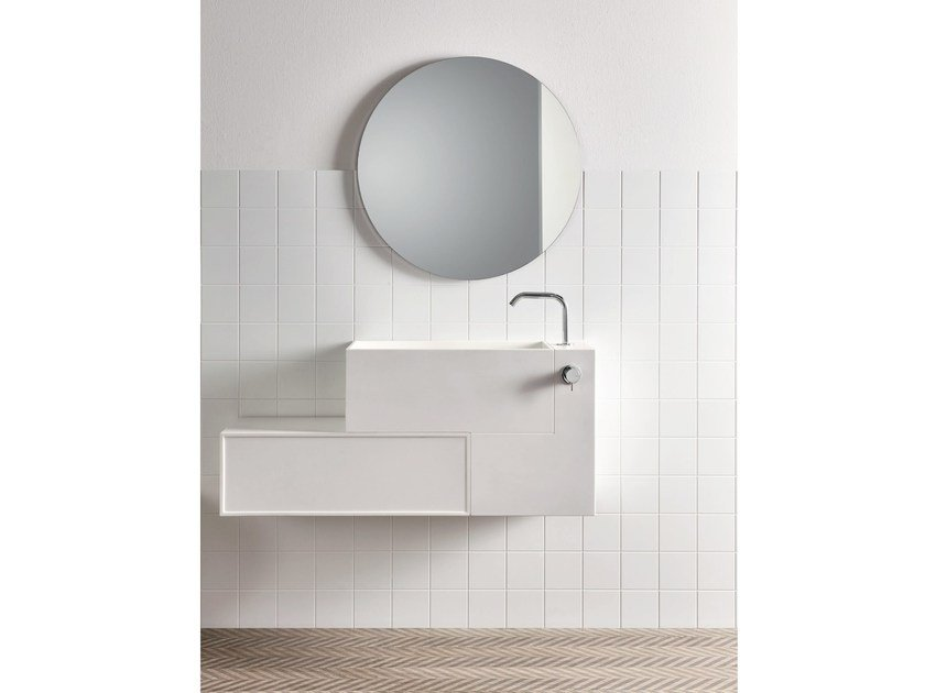 Indoor Corian® wall/floor tiles UNICO | Wall/floor tiles by Rexa Design