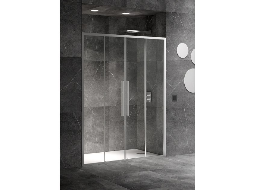 Niche shower cabin with sliding door UNICO SC2 by RELAX