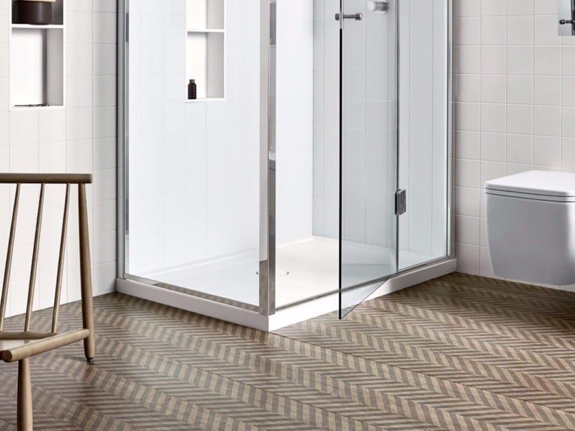 Rectangular Corian® shower tray UNICO | Shower tray by Rexa Design