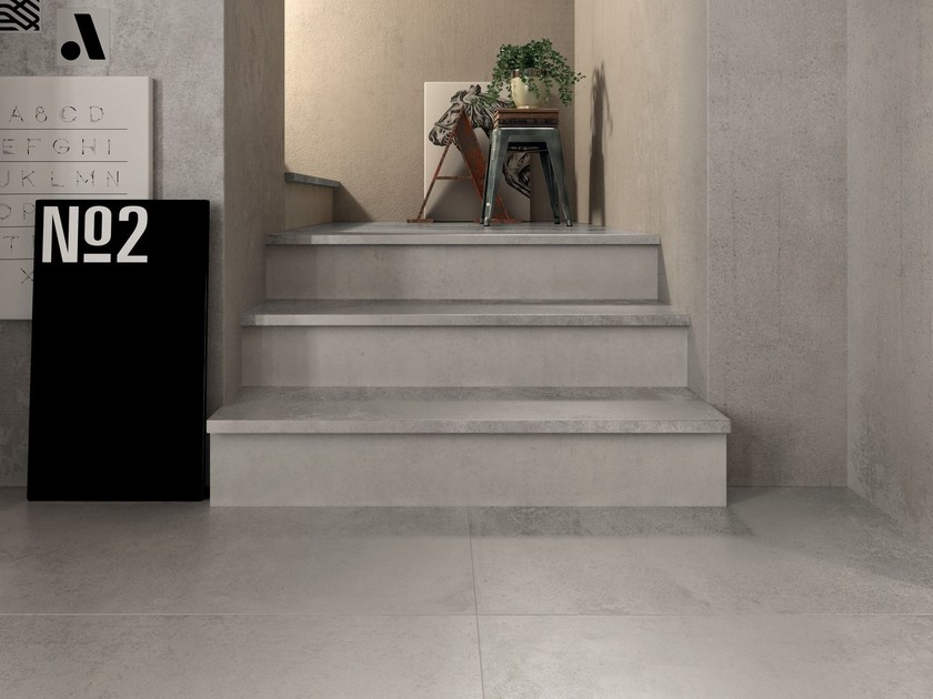 Porcelain stoneware wall/floor tiles UNIKA by ABK