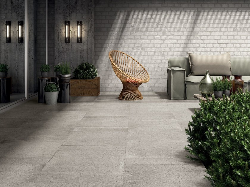 Pavimento rivestimento in gres porcellanato unika abk