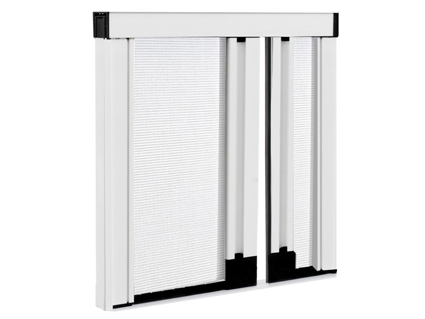Insect screen with guide system UNIKA DUPLEX by Teknika