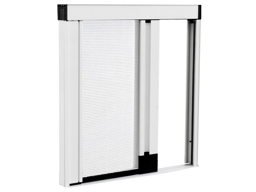 Insect screen with guide system UNIKA by Teknika