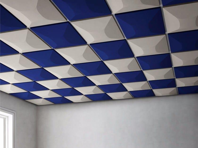 Acoustic ceiling tiles UNIKO by GABER