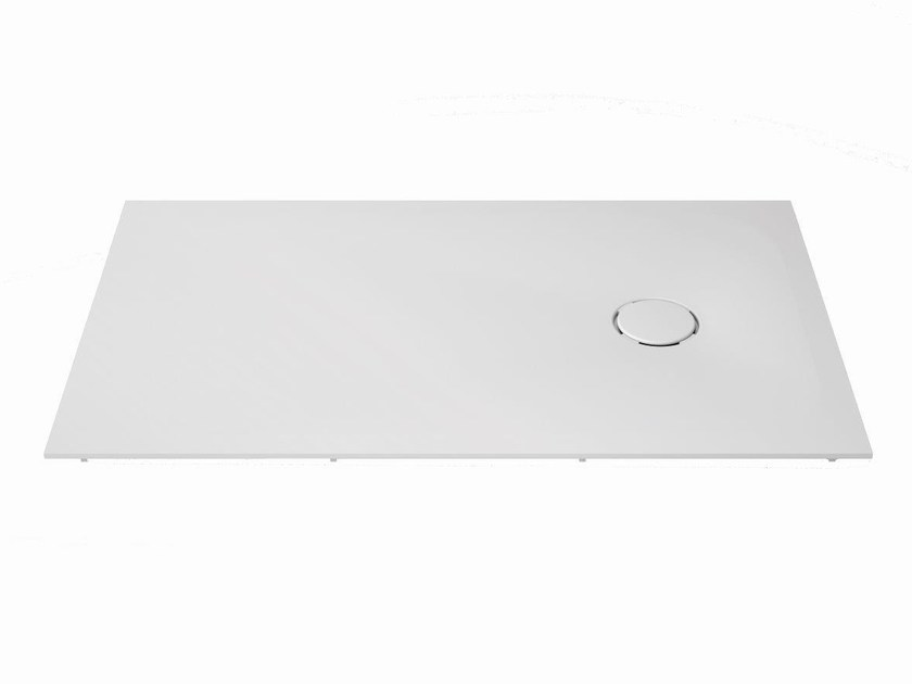 Rectangular Krion® shower tray UNIQUE | Shower tray by Systempool