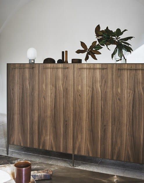 Cucina con isola unit composizione 1 collezione unit by for Cesar arredamenti