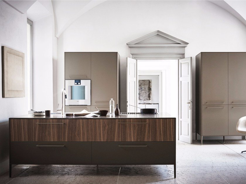 Kitchen with island UNIT - COMPOSITION 1 by Cesar Arredamenti