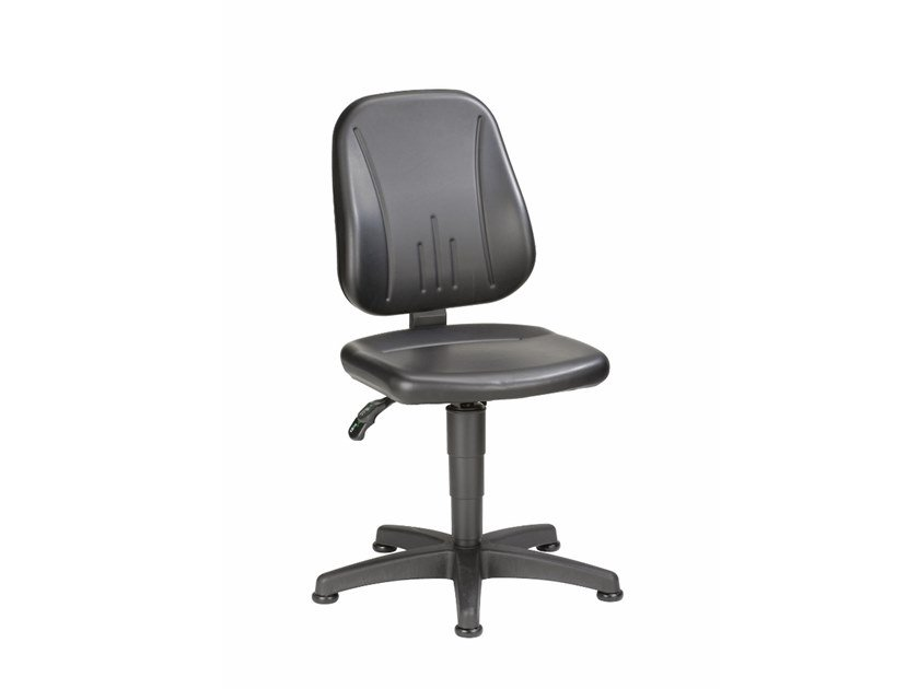 Work chair with 5-Spoke base UNIUTEC 9650 by bimos