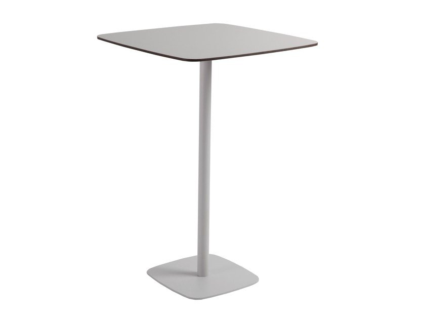 Square high table UNIVERS | High table by MOBIKA GARDEN