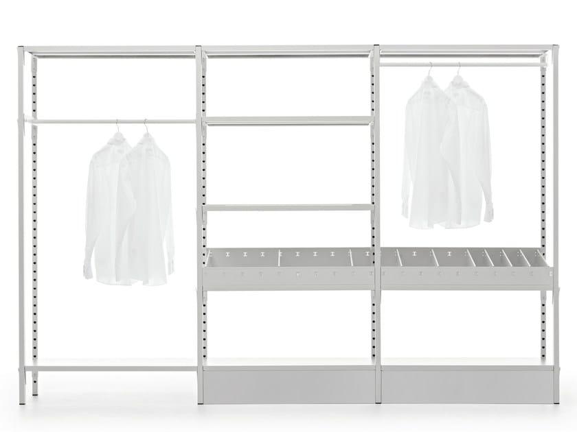 Cabina armadio in metallo su misura UNO | Cabina armadio by Fantin