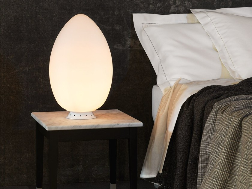 LED table lamp UOVO LED by FontanaArte