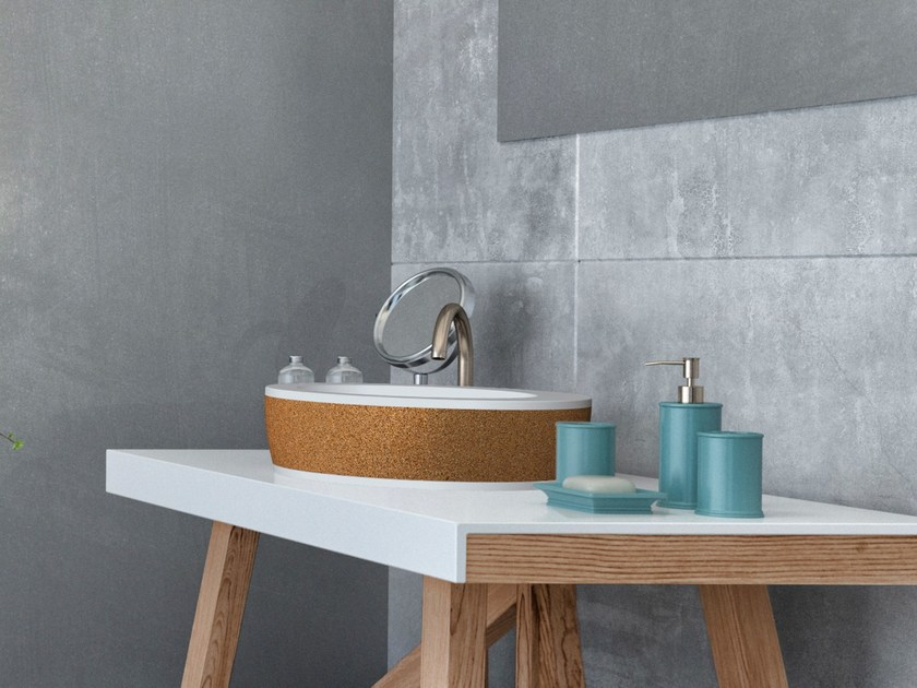 Countertop washbasin UP by AMA Design