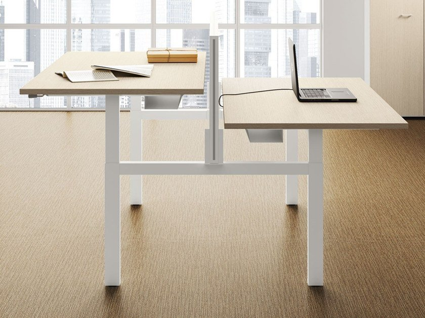 Multiple office workstation UP | Multiple office workstation by Las Mobili