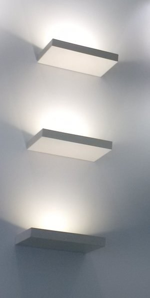 LED wall light with dimmer UP by axis71