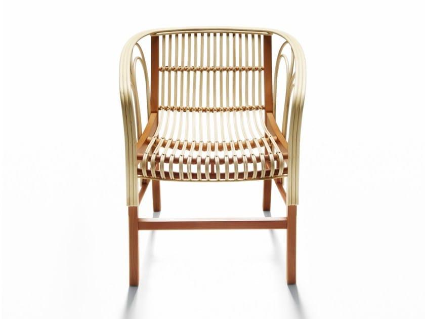 Sedia in midollino con braccioli URAGANO By DE PADOVA design Vico ...
