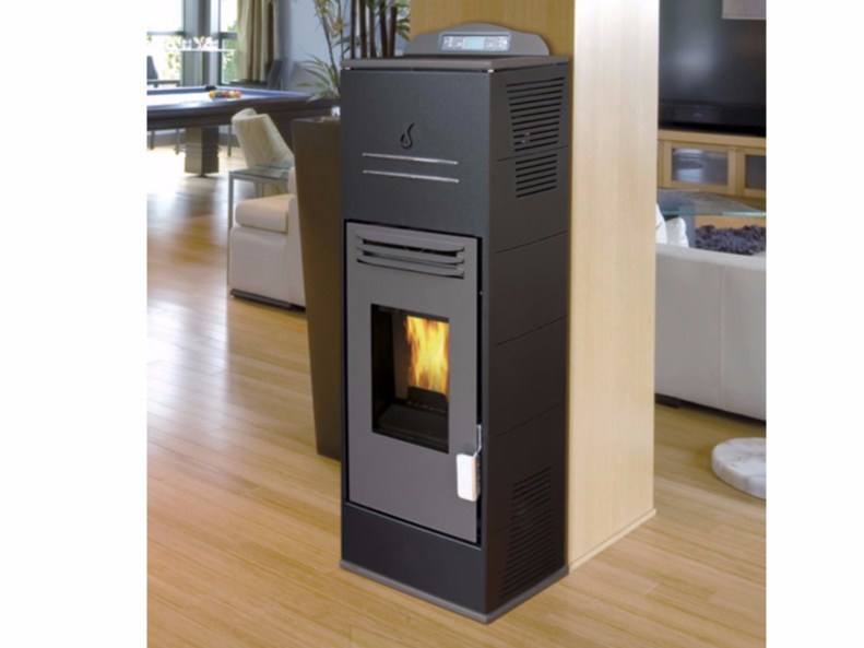 Pellet wall-mounted stove URANO COMPACT by Fintek