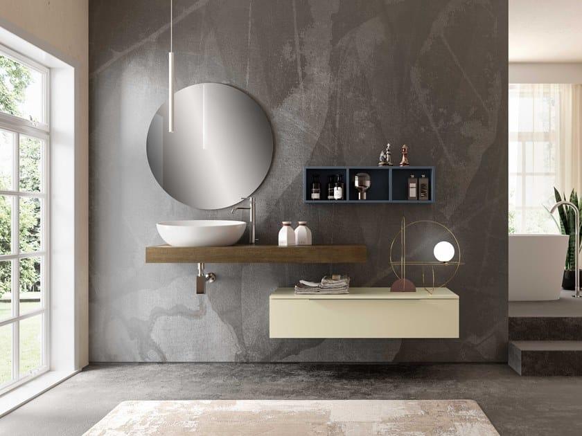 Single washbasin countertop UR01 | Washbasin countertop by Mobiltesino