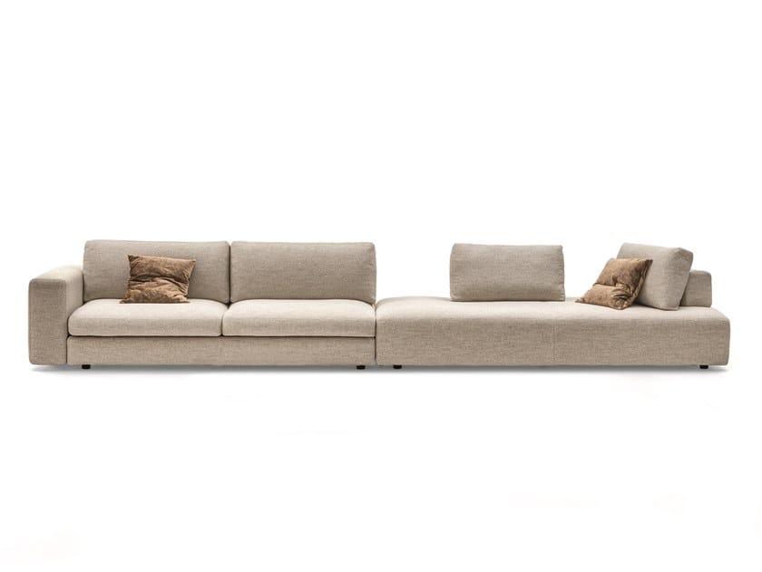 Sectional fabric sofa URBAN 2.0 by Ditre Italia